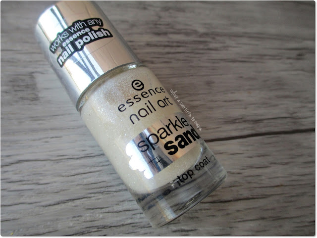 Top coat de Essence Sparkle Sand 24 i feel gritty!