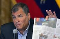 DÍA INTERNACIONAL DE LA LIBERTAD DE PRENSA: Correa anima a sus seguidores ea hostigar a la prensa