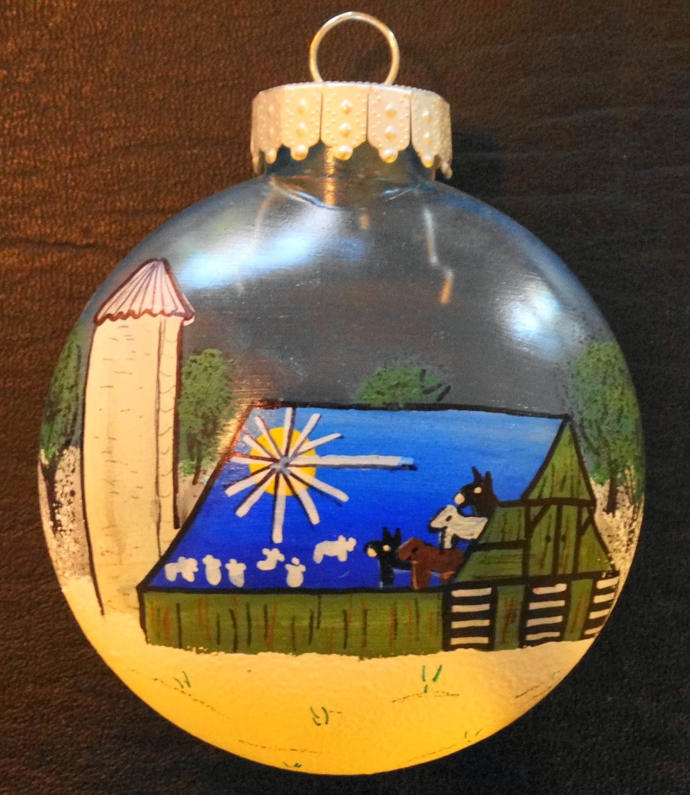 Unique christmas ornaments for sale to support college