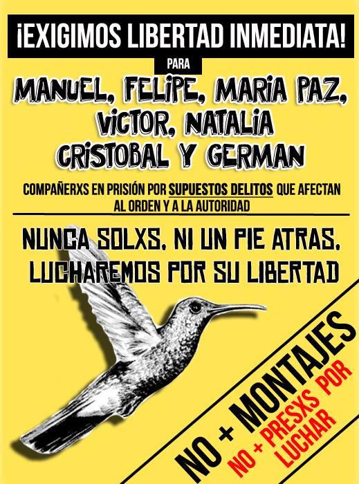 CONTRA LA CRIMININALIZACION DE LA PROTESTA