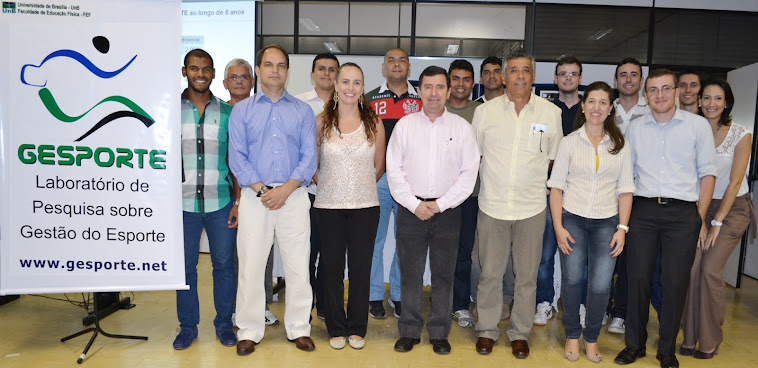 Participantes do Encontro Anual GESPORTE 2012