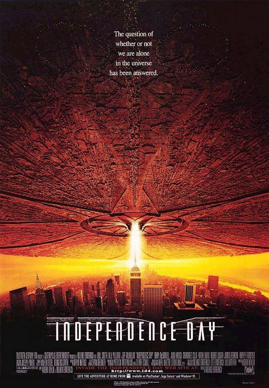 Independence Day 1996 BRRip BluRay Movie Poster Free Download