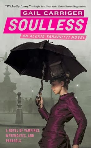 Parasol Protectorate series by Gail Carriger