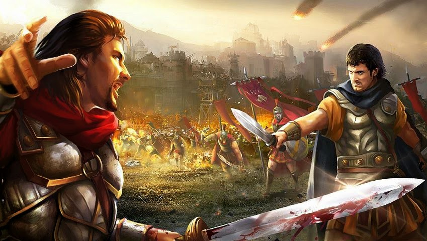 Empire War : Age Of Heroes Gameplay Android