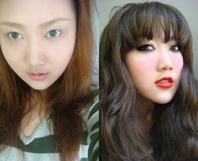 Before And After Makeup Asian Girls Seen On www.coolpicturegallery.us