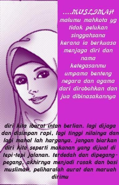 Image Result For Kata Bijak Muslimah Cantik