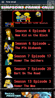 Simpsons Prank Calls screenshot