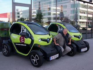 Con los Renault Eléctricos (Viena)