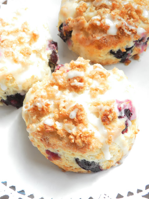 *Riches to Rags* by Dori: Lemon Blueberry Scones