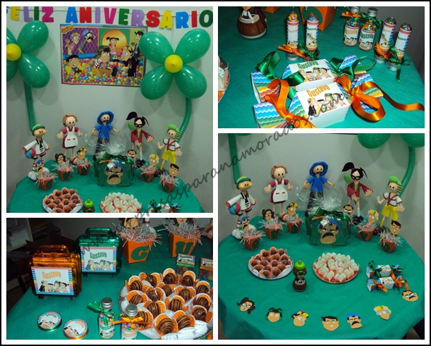 festa personalizada infantil tema chaves