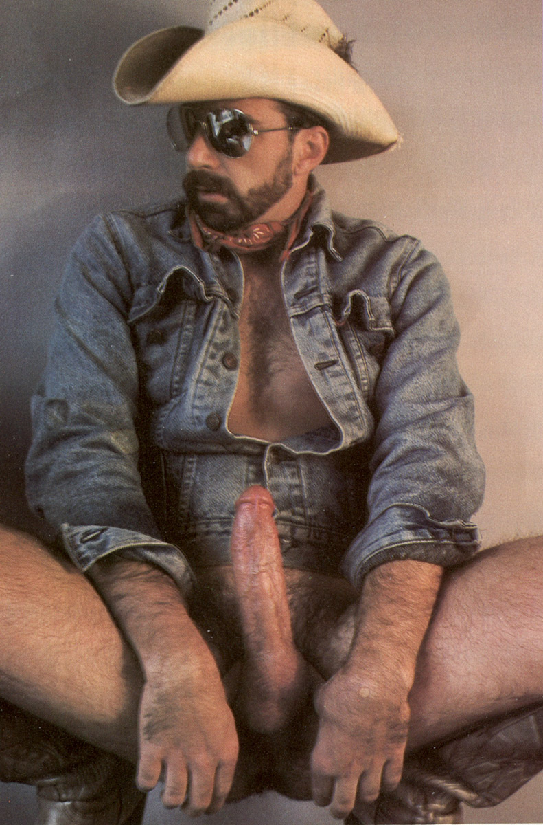 from Gideon cowboy gay moustache