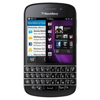 Blackberry Q10 Black Smartphone
