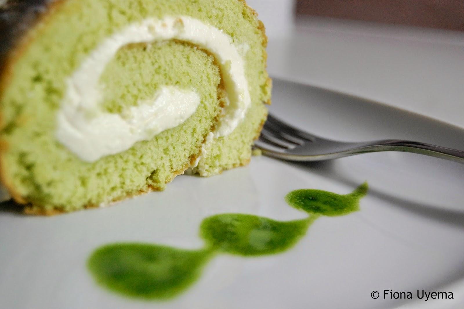 Japanese Butter Cream Roll Cake