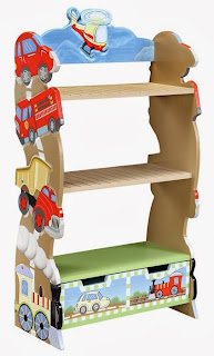 Childrens Bookcase By Teamson