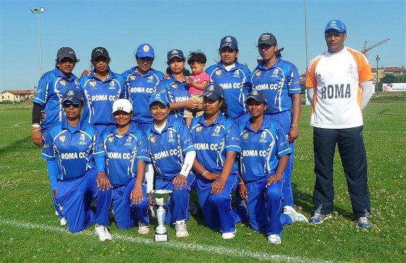 Roma Cricket Femminile Campione Italia 2014