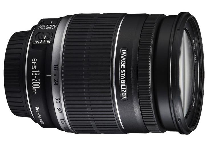 Lens 200mm vs 300mm Canon Ef-s 18-200mm is Lens