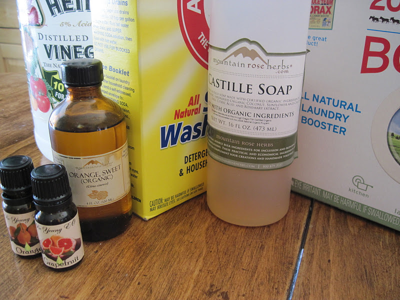 Simple Healthy Tasty Make Your Own Laundry Detergent