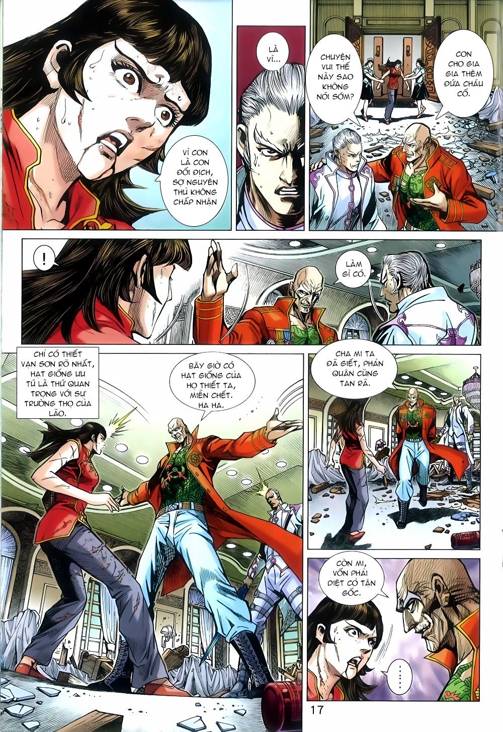 Tân Tác Long Hổ Môn chap 816 Trang 17 - Mangak.info