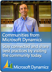 Communities from Microsoft Dynamics