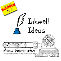 Free GM Resource: Menu Generator from Inkwell Ideas