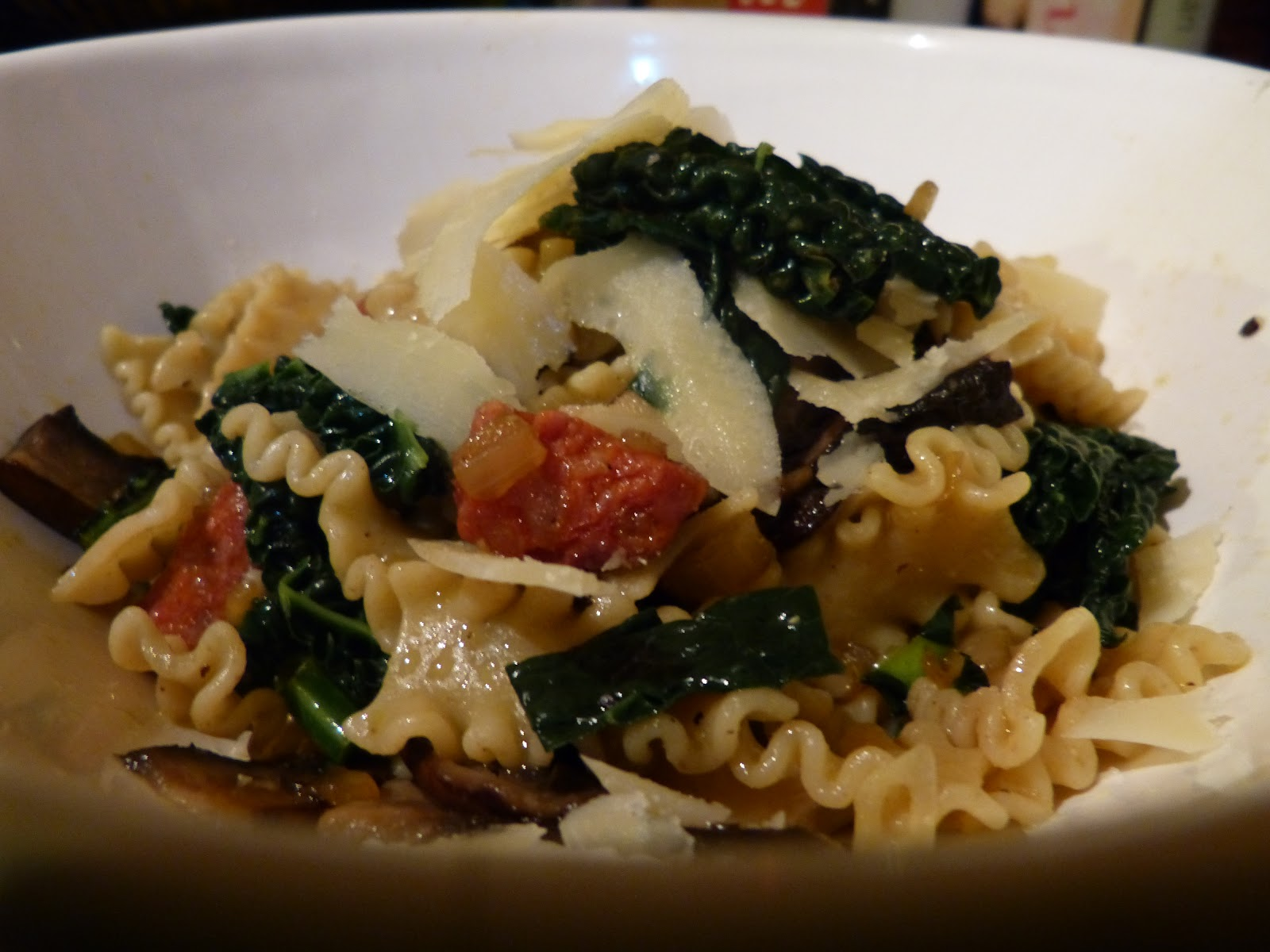 North West Nosh: Chorizo, kale and mushroom pasta