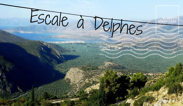 Delphes, le Mont Parnasse ou le nombril du monde occidental