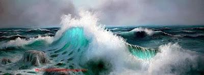 Photo pour couverture journal facebook mer agitée