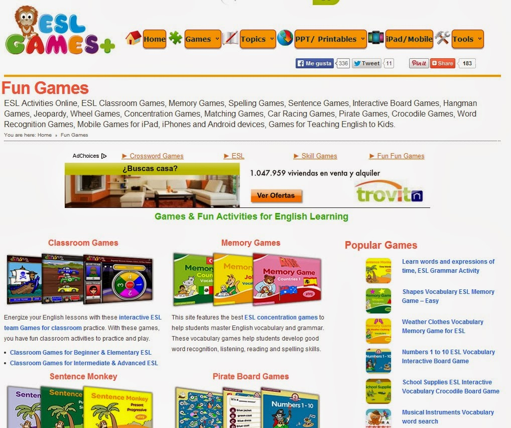 Fun esl games for adults