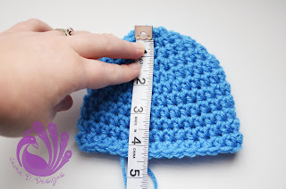 Crochet 101 Making Basic Hat With Photoson Measuring Hat Size Ch