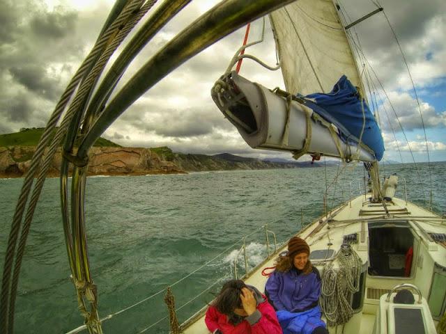 Navegando por el flysch