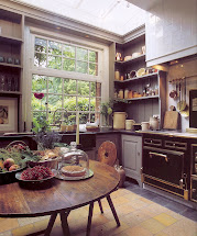 Rustic Country Kitchen Window