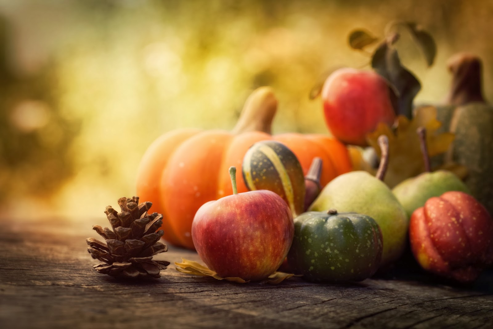 Time for fall foods like apples and pumpkin!