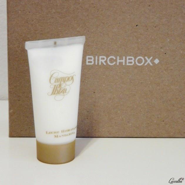Birchbox Mayo 2015 Campos de Ibiza