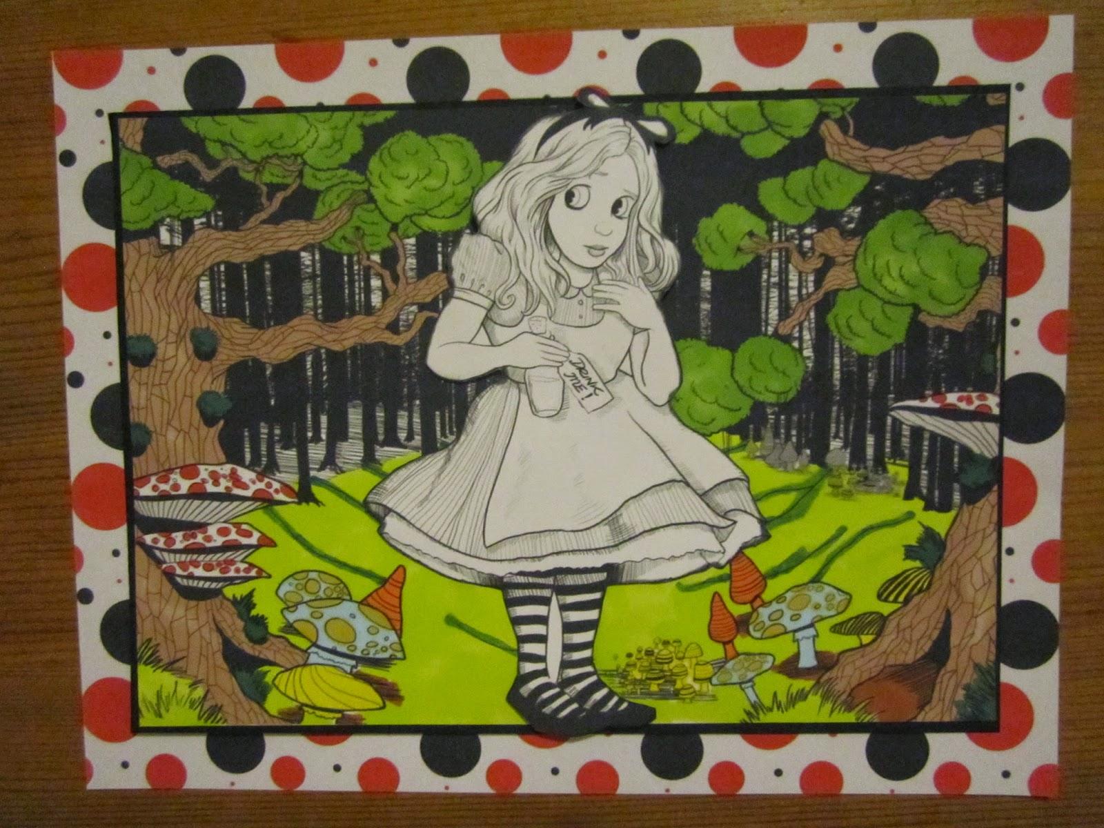 Alice In Wonderland Craft Cd Rom