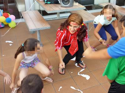 Fiesta infantil en Alcalá de Guadaíra con Isabel Camiña