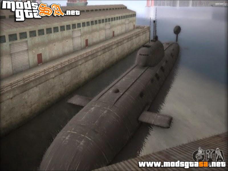 SA - NPS projeto 941 Akula (Mod Submario)