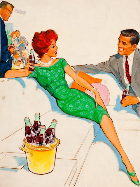 vintage pin up ads