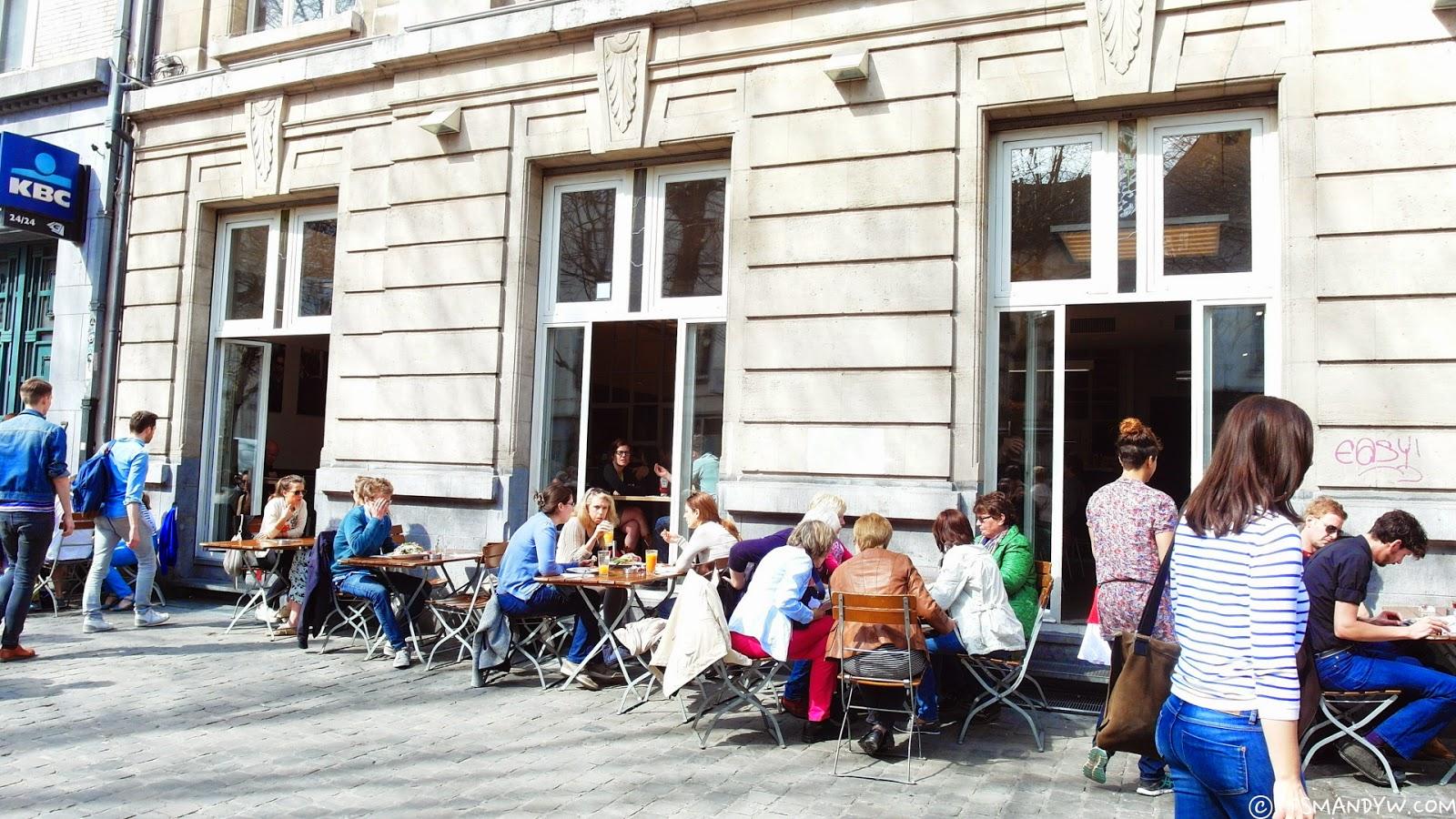 【比利時】輕食早餐店 - Cafe de Markten
