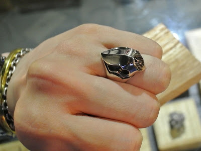 Strange Freak Designs 的 Eyeless Skull Ring