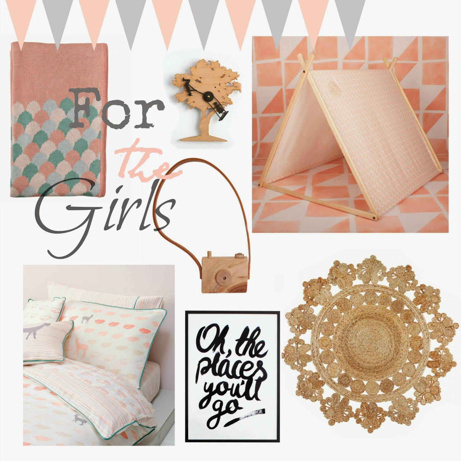 Kids Room Homewares from Hunting For George - Girls