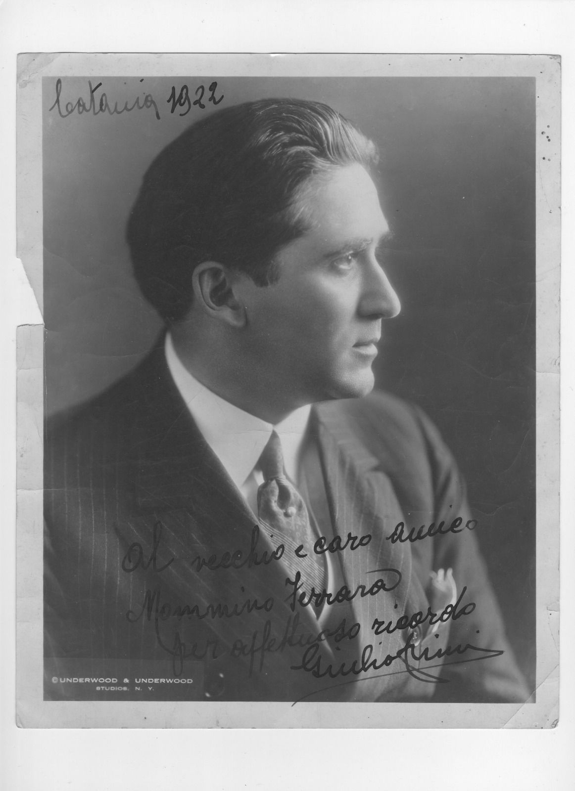 TENOR GIULIO CRIMI (1885 - 1939) CD