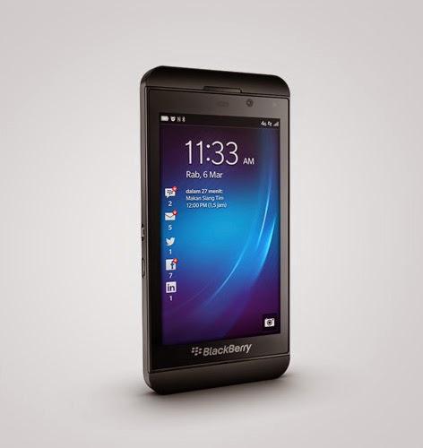 Ponsel BlackBerry Kelas Menengah