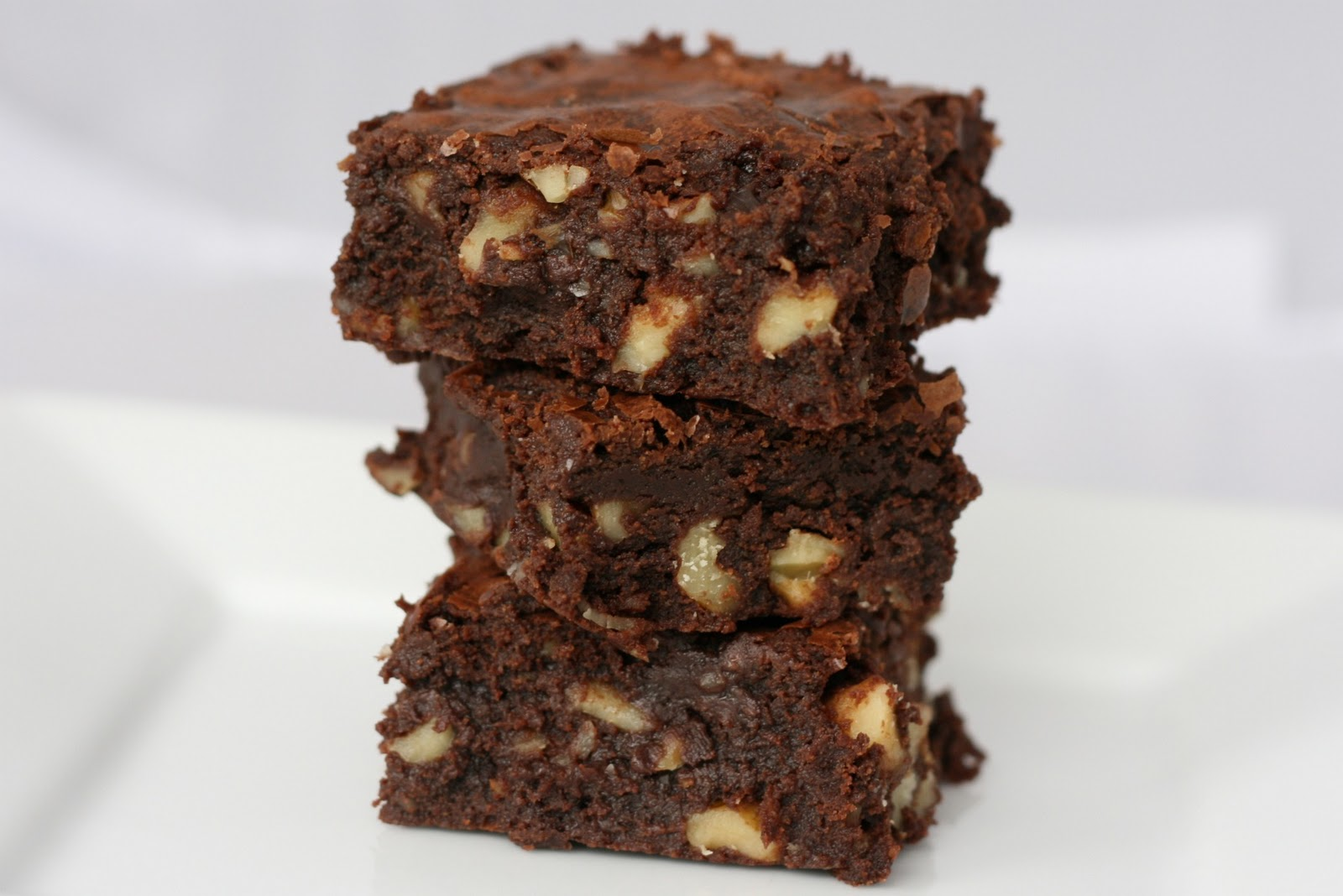 Above My Raisins: Cocoa Brownies with Browned Butter and Walnuts