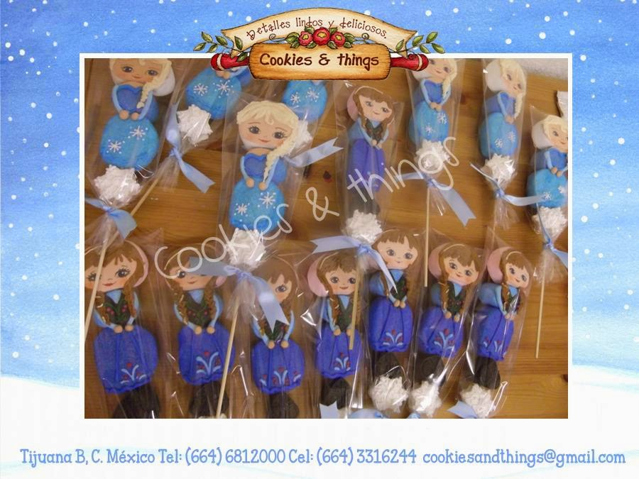 galletas decoradas, centros de mesa, manualidades, personajes madera