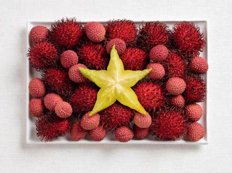 Vietnam - Rambutan, lychee, starfruit
