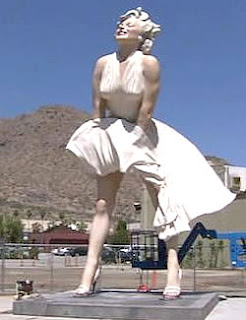 Marilyn Monroe Statue Palm Springs