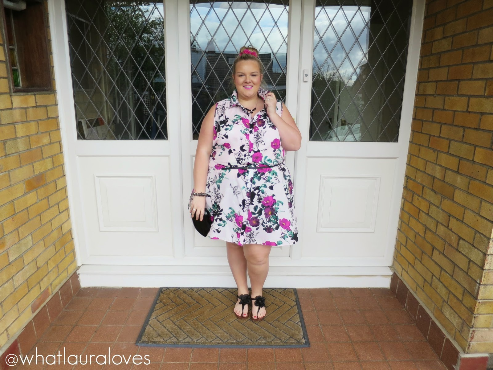 Gemma Collins Boutique Floral Shirt Dress