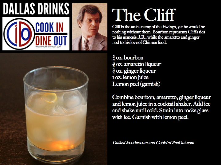Dallas Drinks The Cliff