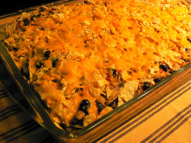 Mexican Casserole - Lake Lure Cottage KitchenLake Lure Cottage Kitchen