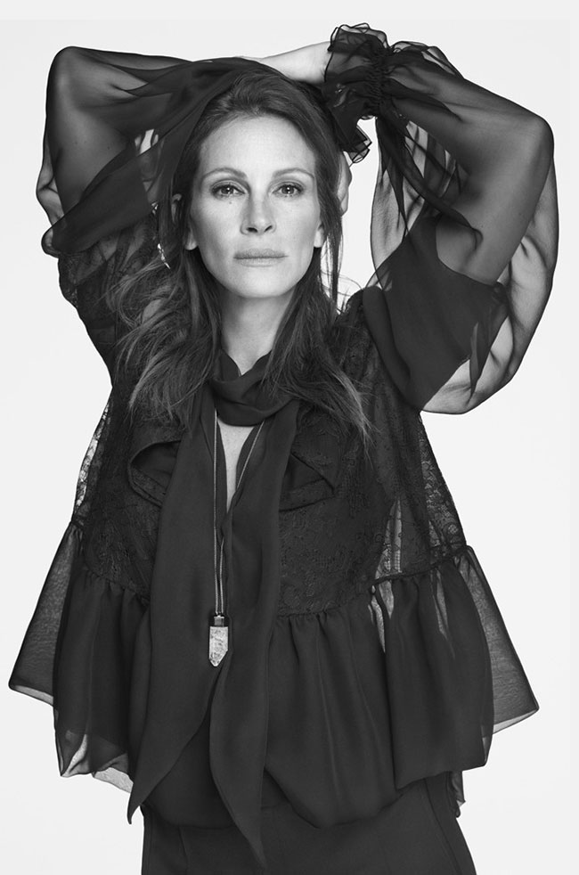 via fashioned by love | Julia Roberts in Givenchy Spring/Summer 2015 campaign by Mert & Marcus